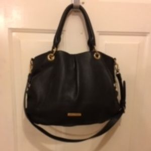 Vince Camuto Lambskin Leather Tote